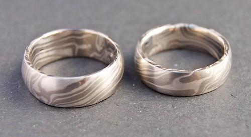 Mokume-Gane-Ringe-Silber-Palladium-1