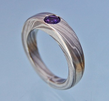 Mokume Gane Ring Bandring