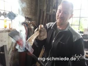 Schmiedemeister Roland Walter