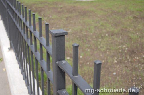 Geschmiedeter Zaun