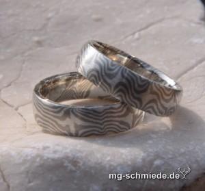 Mokume Gane PDAG Ring