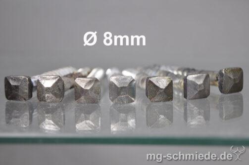 Geschmiedete Vierkantschraube 8mm